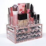 Pink Diamond Cosmetic Storage Display