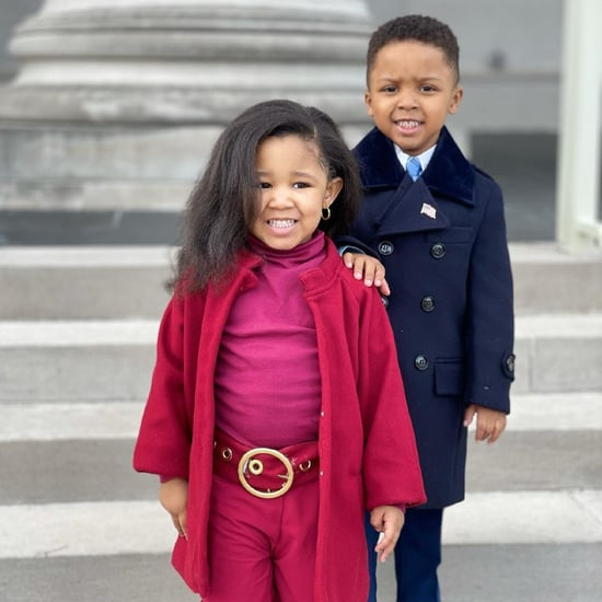 Kids Re-create the Obamas' Inauguration Outfits | Photos