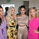 Brie Bella, Tori Spelling, Nikki Bella, and Jennie Garth at the Teen Choice Awards 2019