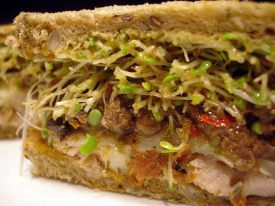 Recipe For Olive and Roasted Ahi Tuna Melt