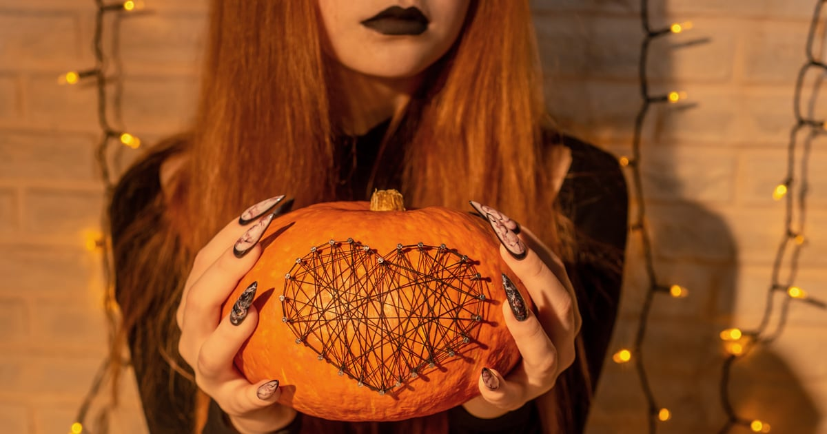 17 Halloween Stiletto Nail Art Looks That Are Equal Parts Spooky and Alluring.jpg