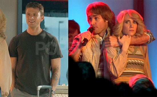 Photos of Ryan Phillippe, Kristin Wiig, and Will Forte on the MacGruber Set in New Mexico