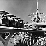 Tomorrowland has changed a lot over the last 50+ years — the PeopleMover is now a thing of the past.