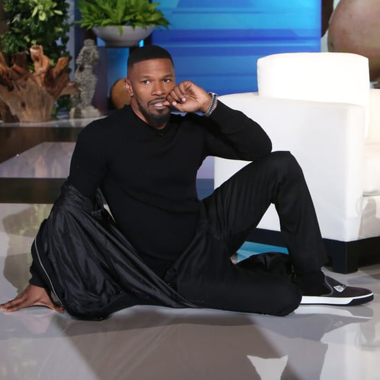 Jamie Foxx on The Ellen DeGeneres Show January 2017