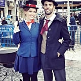 Mary Poppins and Bert From Mary Poppins