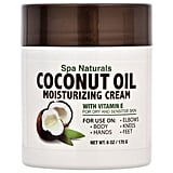 Spa Naturals Coconut Oil Moisturizing Cream ($1 each)