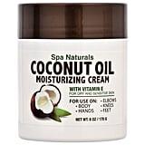Spa Naturals Coconut Oil Moisturizing Cream ($1 each)