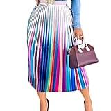 ThusFar Graffiti Pleated Skirt