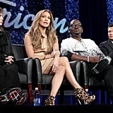 Jennifer Lopez Brings Her Bold Style to American Idol and the TCAs