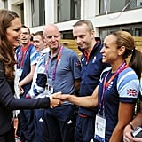Kate and Dame Jessica Ennis-Hill
