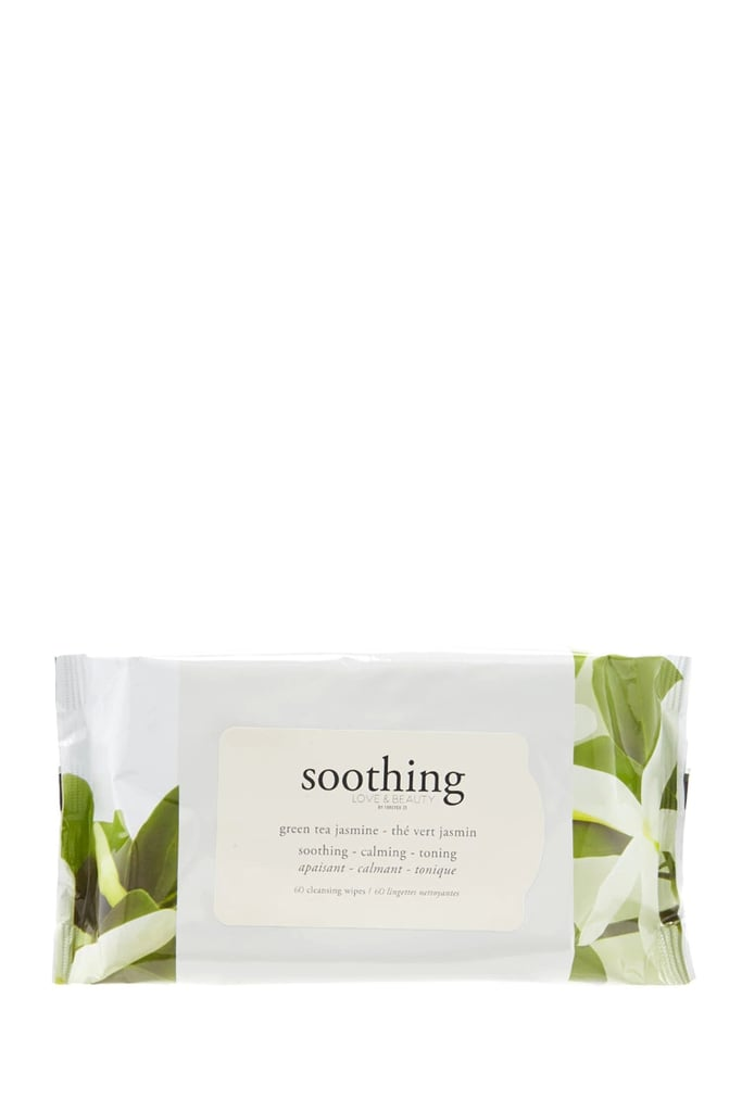 Green Tea Jasmine Face Wipes ($5)