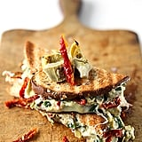 Cheesy Spinach Artichoke and Sun-Dried Tomato Panini