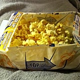 Turn a Popcorn Bag Into a Bowl