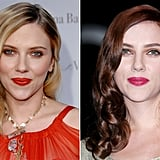Scarlett Johansson: Blonde to red.