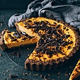 Vegan Sweet Potato Pie With Chocolate and Walnut Crust