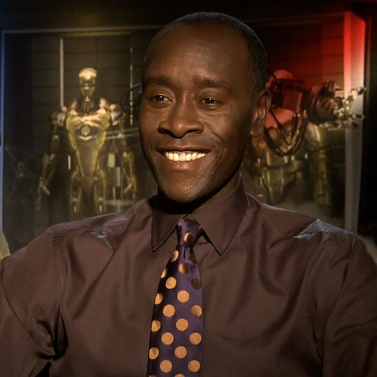 Don Cheadle Iron Man 3 Interview (Video)