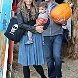 Molly Sims and Brooks
