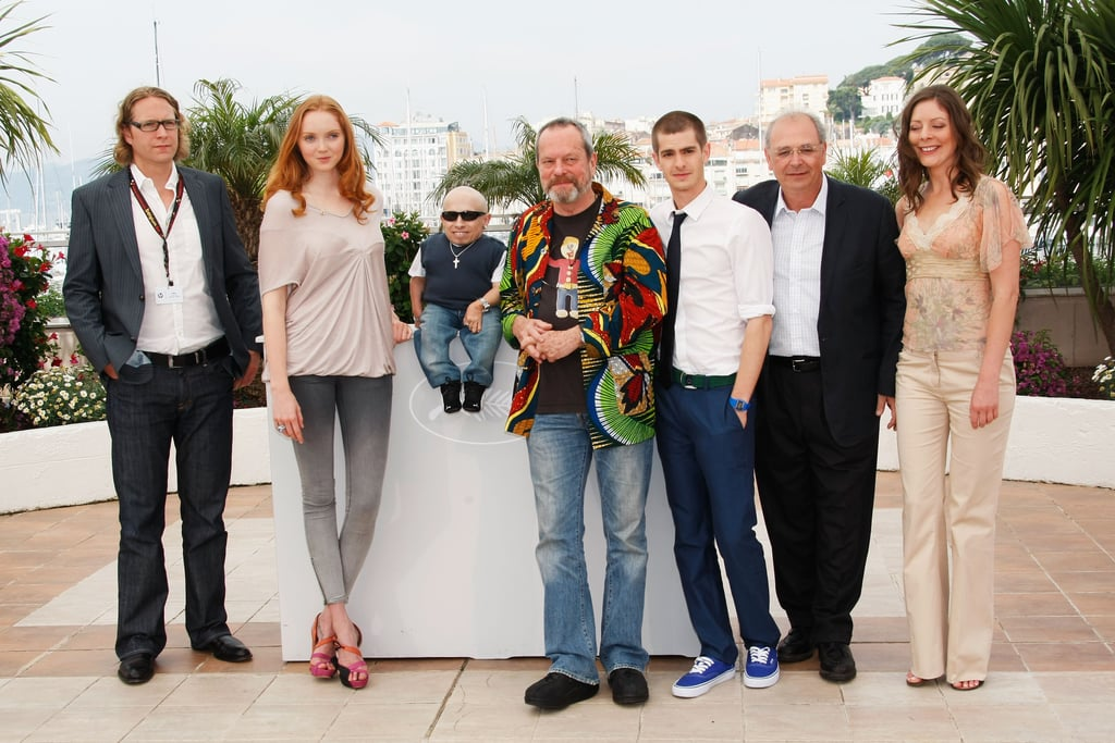 Lily Cole with cast at The Imaginarium of Dr. Parnassus photo call