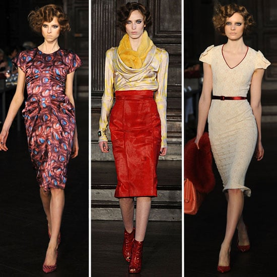 L'Wren Scott Runway Fall 2012