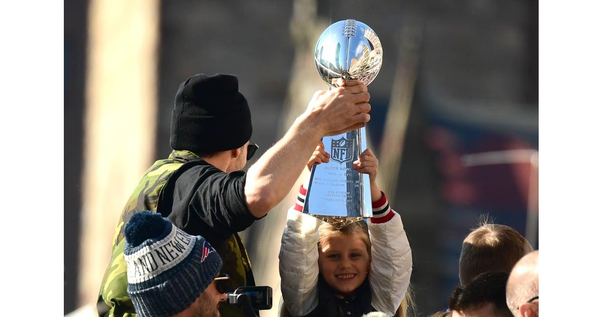 Tom Brady and His Family at 2019 Super Bowl Parade   POPSUGAR