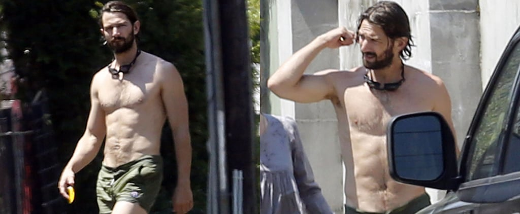 Michiel Huisman Shirtless in New Orleans 2015 | Pictures