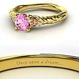 Pink sapphire Aurora Engagement Ring ($4,660)