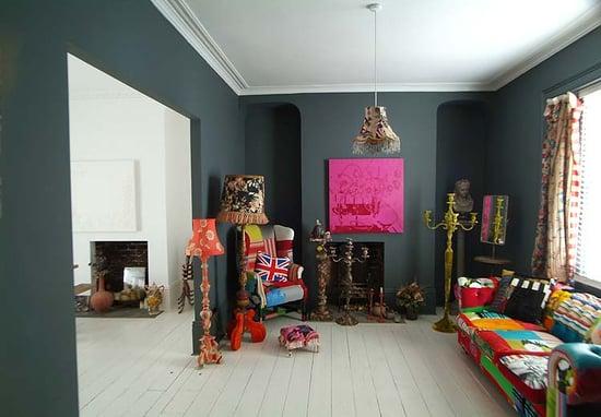 Coveted Crib: Lamptastic in London
