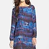 BB Dakota Emily Print Long Sleeve Shift Dress ($79)