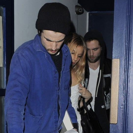 Sienna Miller With Robert Pattinson in London
