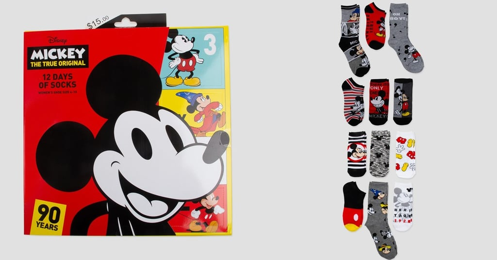 Mickey Mouse 90th Anniversary Sock Advent Calendar at Target
