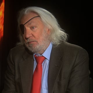Donald Sutherland on The Hunger Games Interview (Video ...