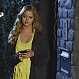 Alison (Sasha Pieterse) is back! Source: ABC Family