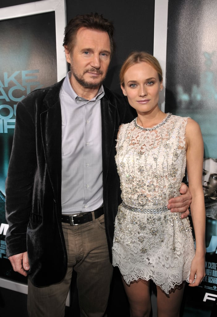 Diane Kruger and January Jones Dazzle at the Premiere of Unknown With Liam Neeson