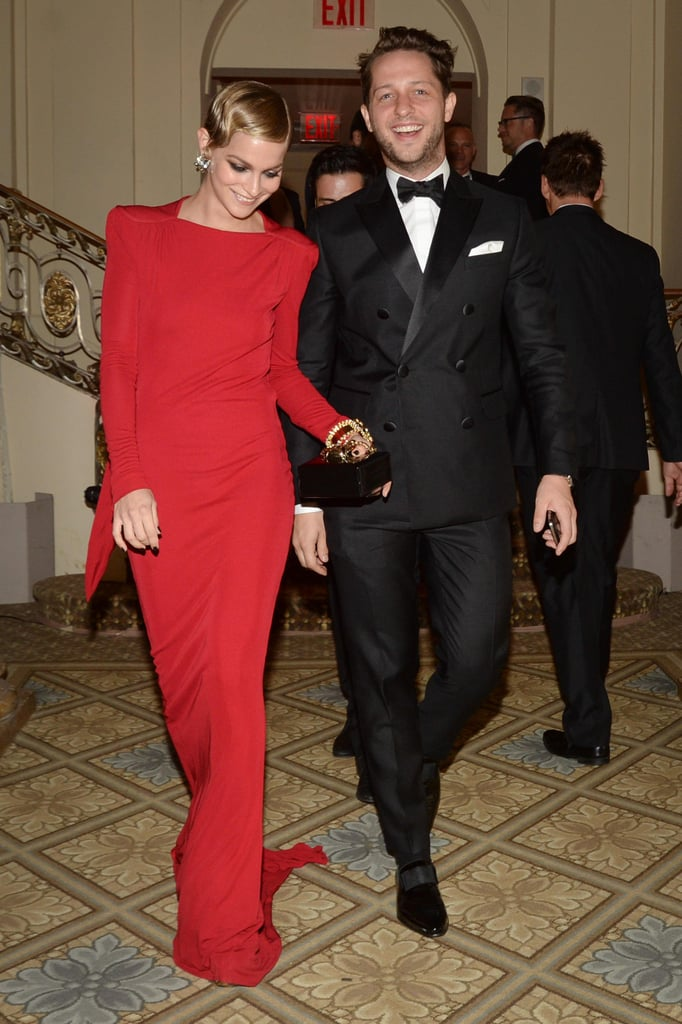 Leigh Lezark and Derek Blasberg at the 2013 amfAR Inspiration Gala. Source: Matteo Prandoni/BFAnyc.com
