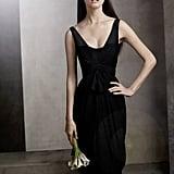 V Neck Sleeveless Chiffon Column Dress ($168) Photo courtesy of White by Vera Wang