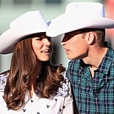 """Kate: """"They're called cowboy hats."""""""
