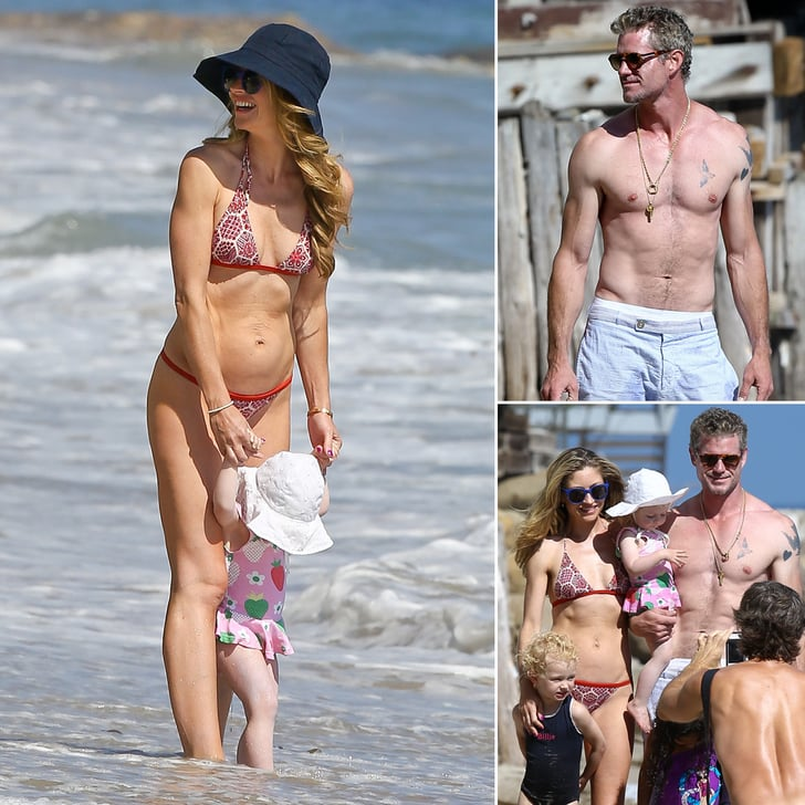 Rebecca Gayheart and Eric Dane Show Off Their Beach Bodies in Malibu