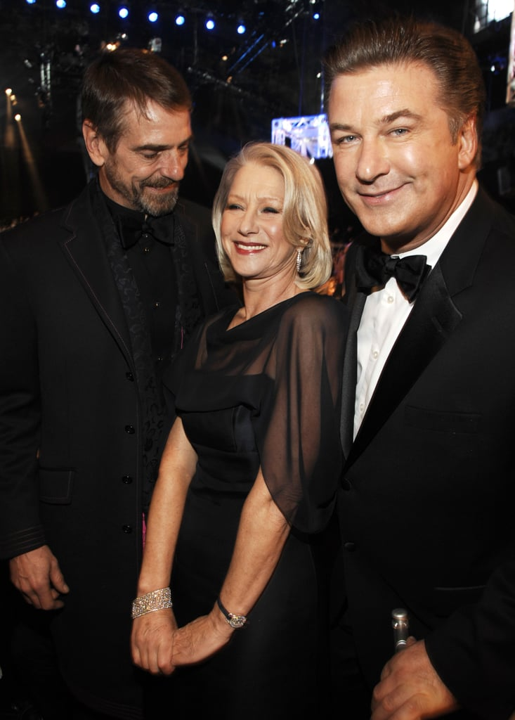 Jeremy Irons and Alec Baldwin