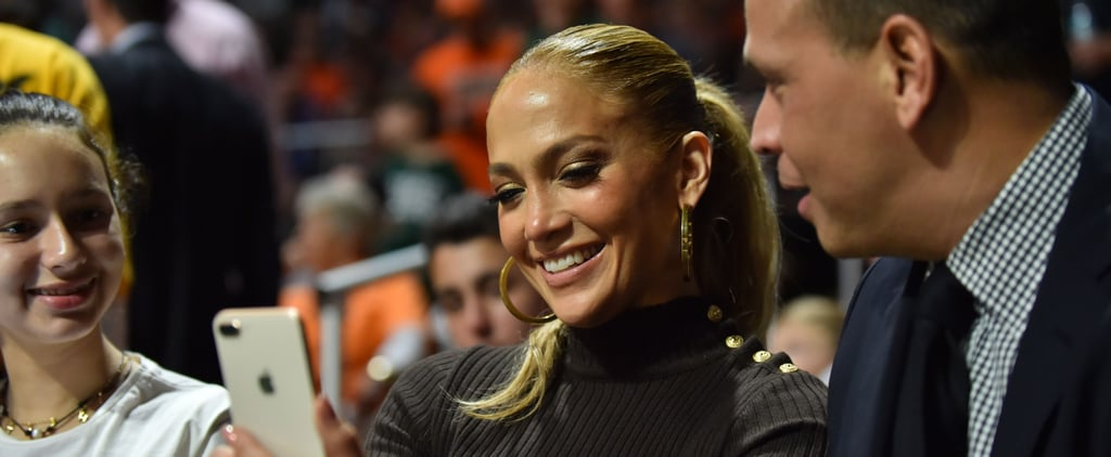 Leave It to Jennifer Lopez to Make a Turtleneck Look This Damn Fabulous