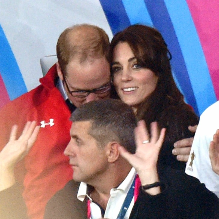 Prince Harry And Prince William At The Rugby World Cup