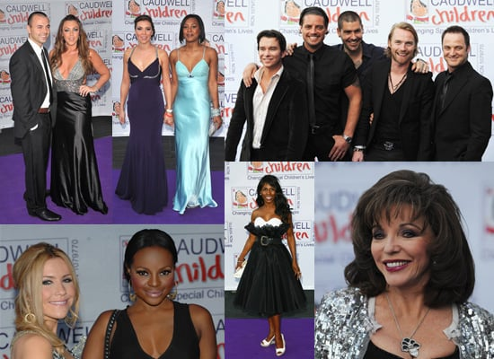Boyzone, Sugababes, Liberty X and Sinitta at the Caudwell Children's Legends Ball
