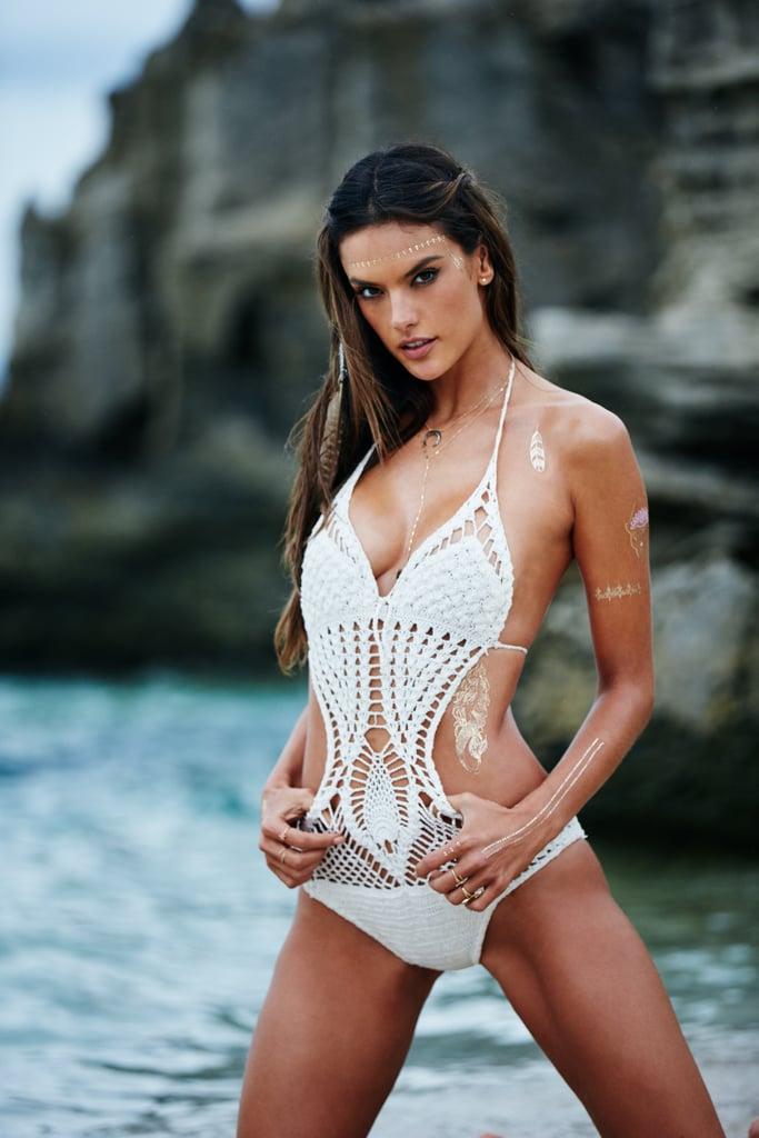 Alessandra ambrosio bikini line