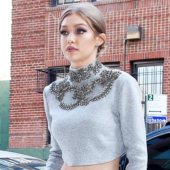 Gigi Hadid in Sally LaPointe Sweatsuit