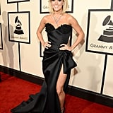 Carrie Underwood Showed Off a Whole Lot of Leg at the Grammys
