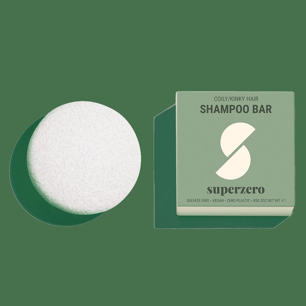 Superzero Shampoo Bar for Coily, Kinky Hair