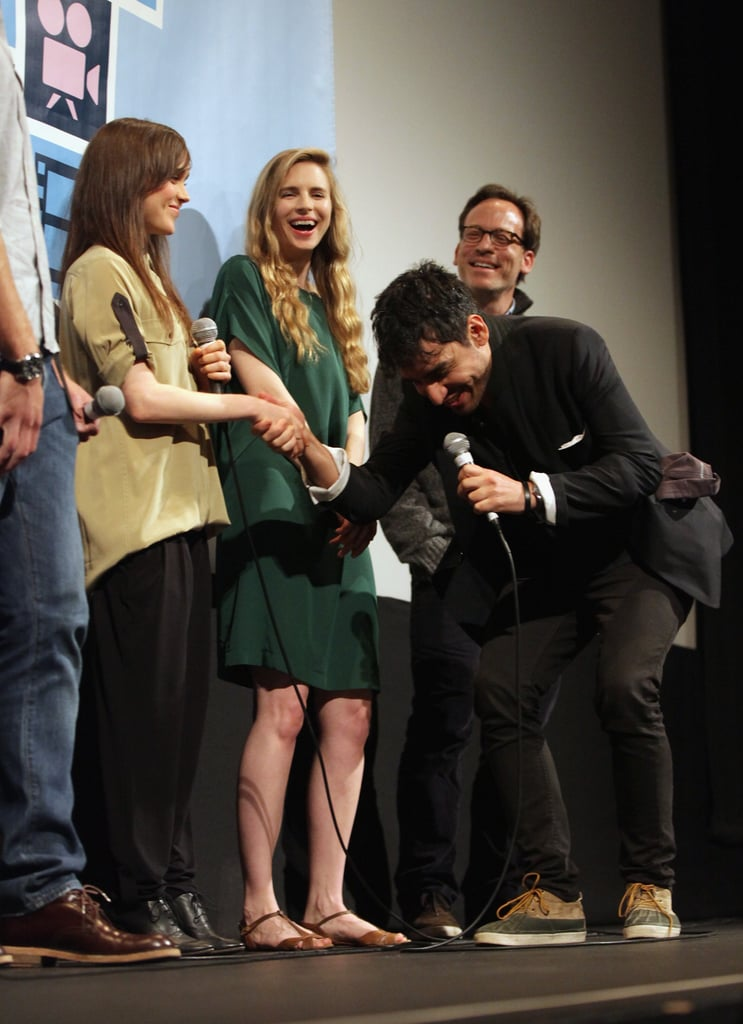Britt Marling and Ellen Page had fun at a Q&A for their film The East at SXSW.