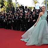 Diane Kruger in Giambattista Valli at Cannes Film Festival in 2012