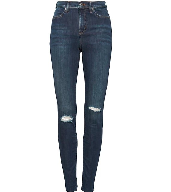High-Rise Ankle Jean