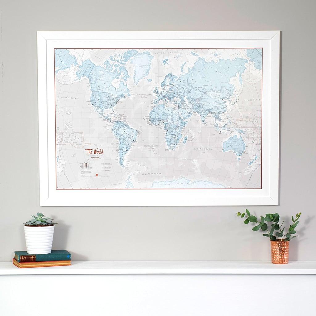 Maps international world map art best wall art from amazon maps international world map art gumiabroncs Gallery