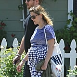 Drew Barrymore and new husband Will Kopelman took a stroll on their honeymoon in Montecito.